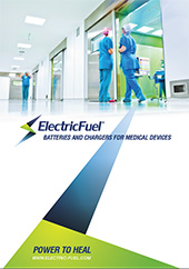 BATTERIES AND CHARGERS FOR MEDICAL DEVICES